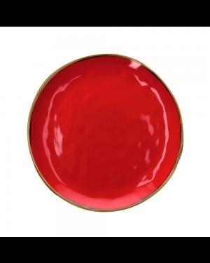 Обеденная тарелка Concerto Rosso Fuoco 27 см
